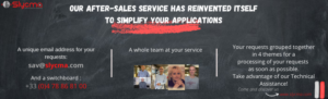 How to contact after sales service