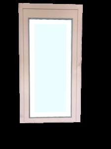 Porte vitrée pour ascenseur design