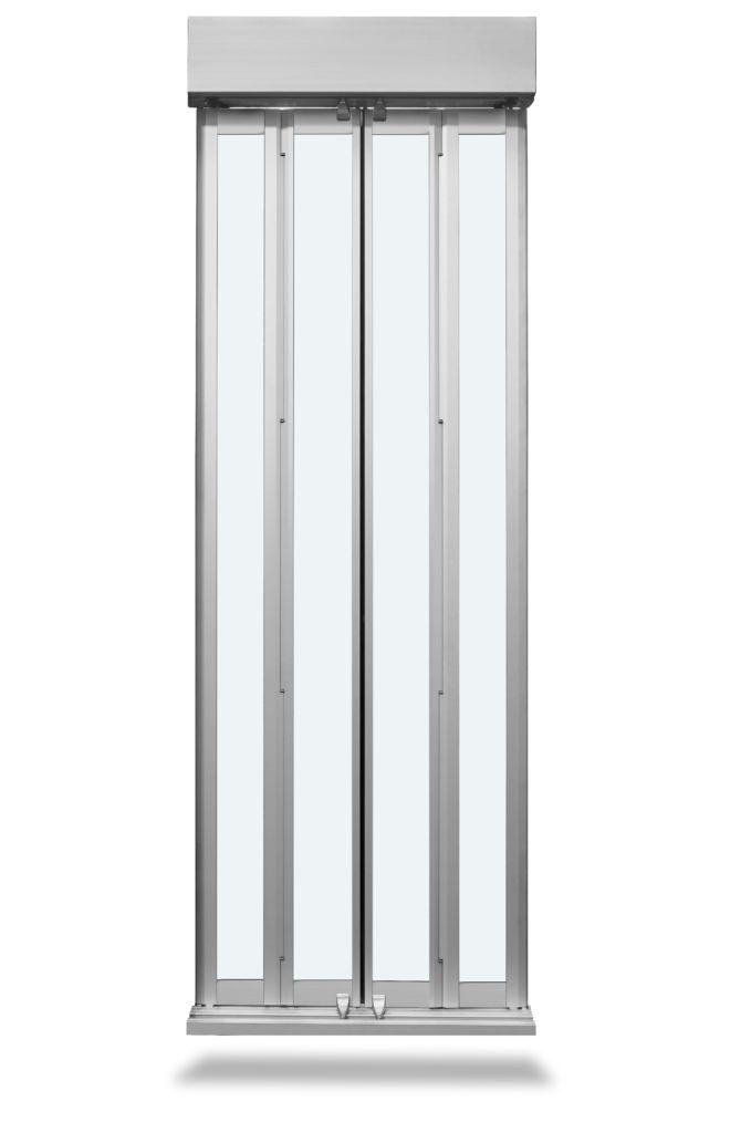 porte-pliante-automatique-vitree-slycma