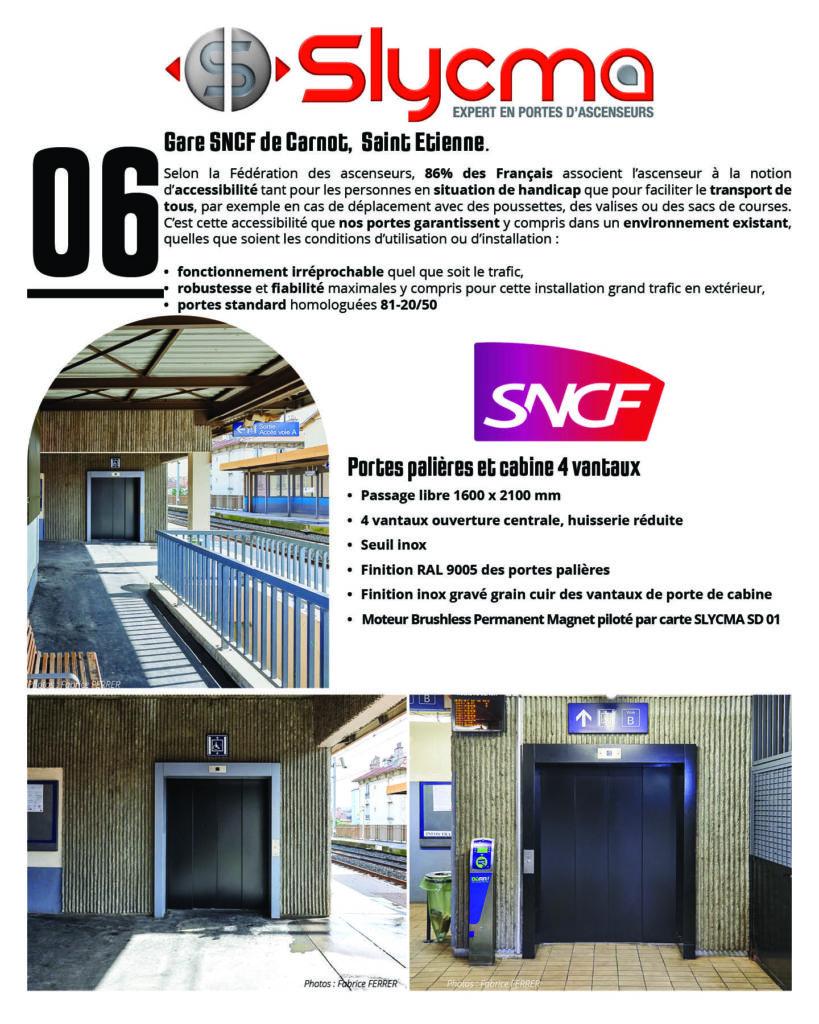 portes d'ascenseur pour les problématiques d'accessibilité dans les lieux publics