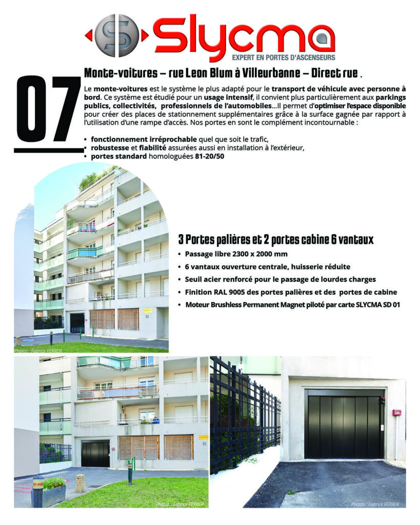 portes d'ascenseur pour accessibilité dans les immeubles