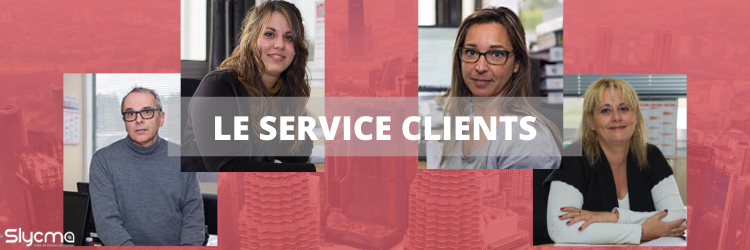 Equipe SLYCMA Service clients