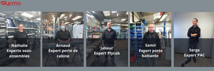 Les 6 experts production