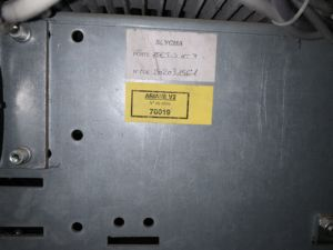Etiquette avec numéro de commande SLYCMA