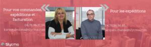 Coordonnées Karine et Jacques service clients