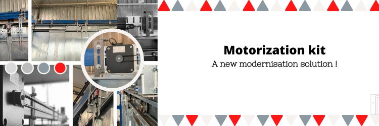 motorizatio kit to modernise your lift car door