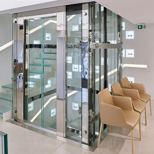 porte vitrée pour ascenseur